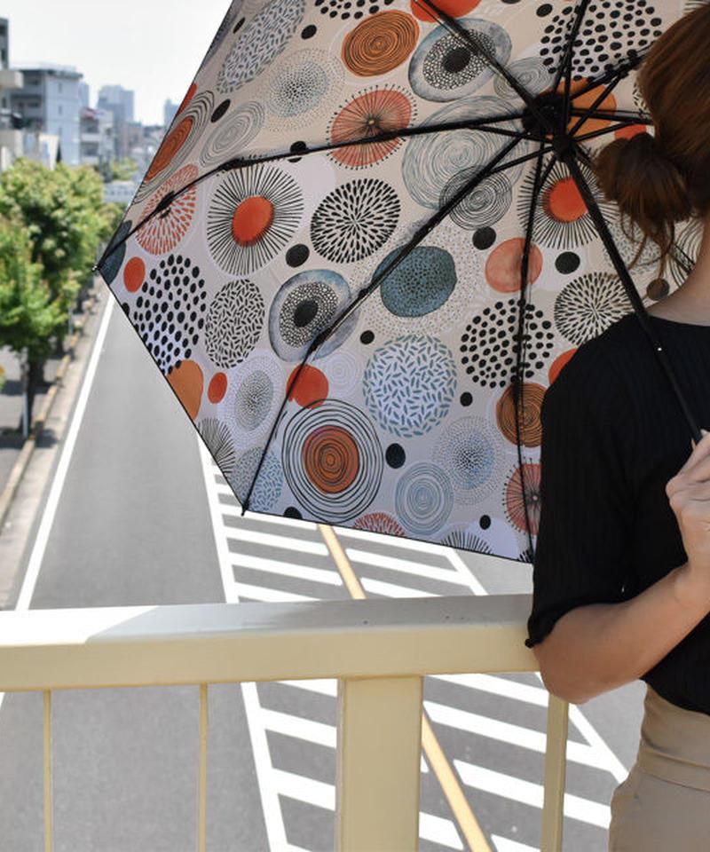 raingoods-02019 花火デザイン 折りたたみ傘 日傘 雨傘 晴雨兼用