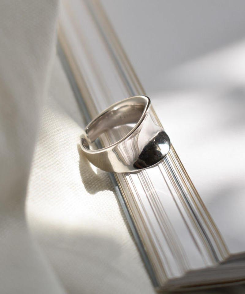 mb-ring2-02078 SV925 ニュアンスカーブ リング シルバー925