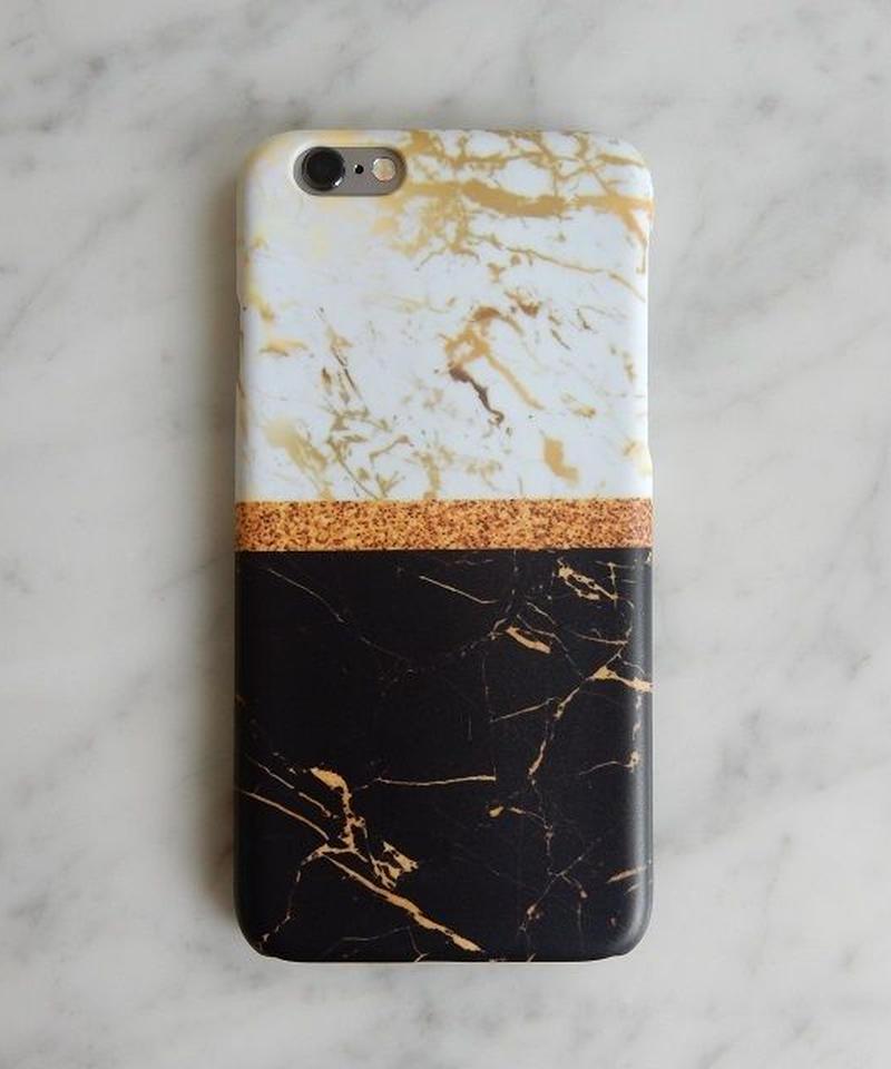 mb-iphone-02190 タイプ31 バイカラー  大理石 マーブル柄 天然石柄 ストーン柄 iPhoneケース