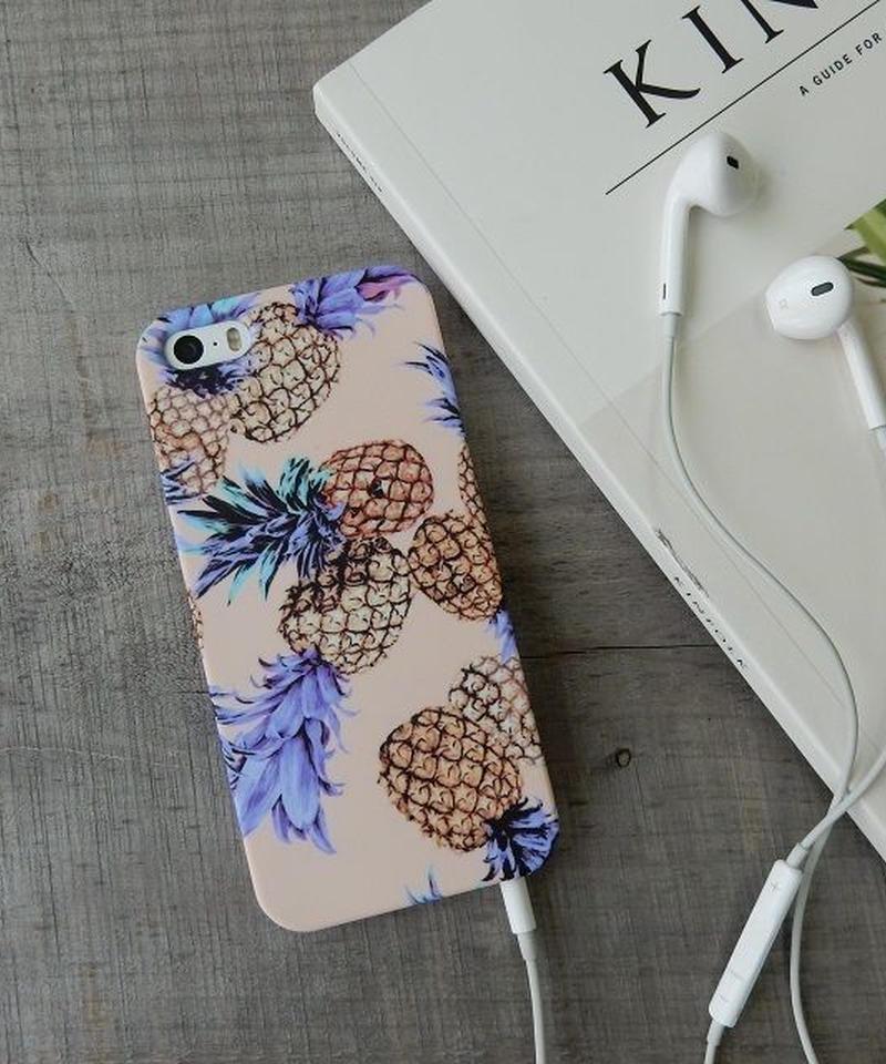 mb-iphone-02158 タイプ2 パイナップル iPhoneケース