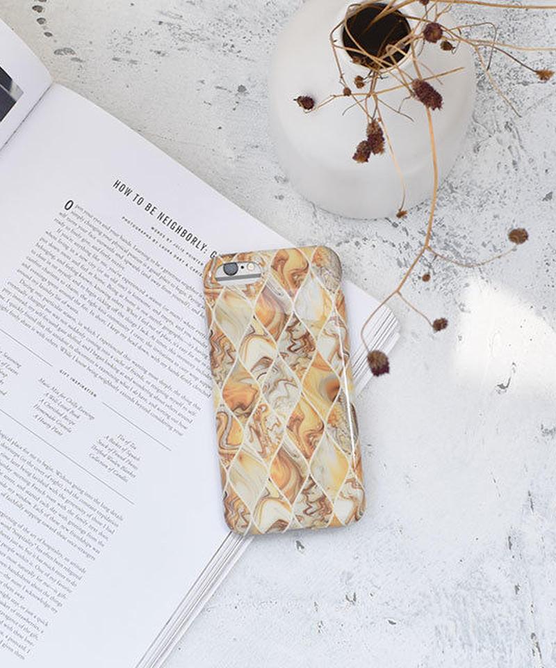 mb-  iphone-02556  マーブル柄 立涌模様 iPhoneケース