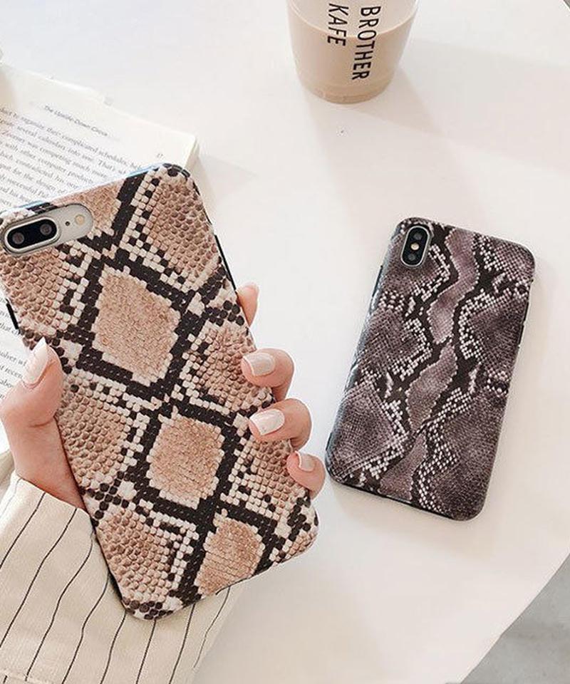 mb-iphone-02515  パイソン柄 プリントiPhoneケース