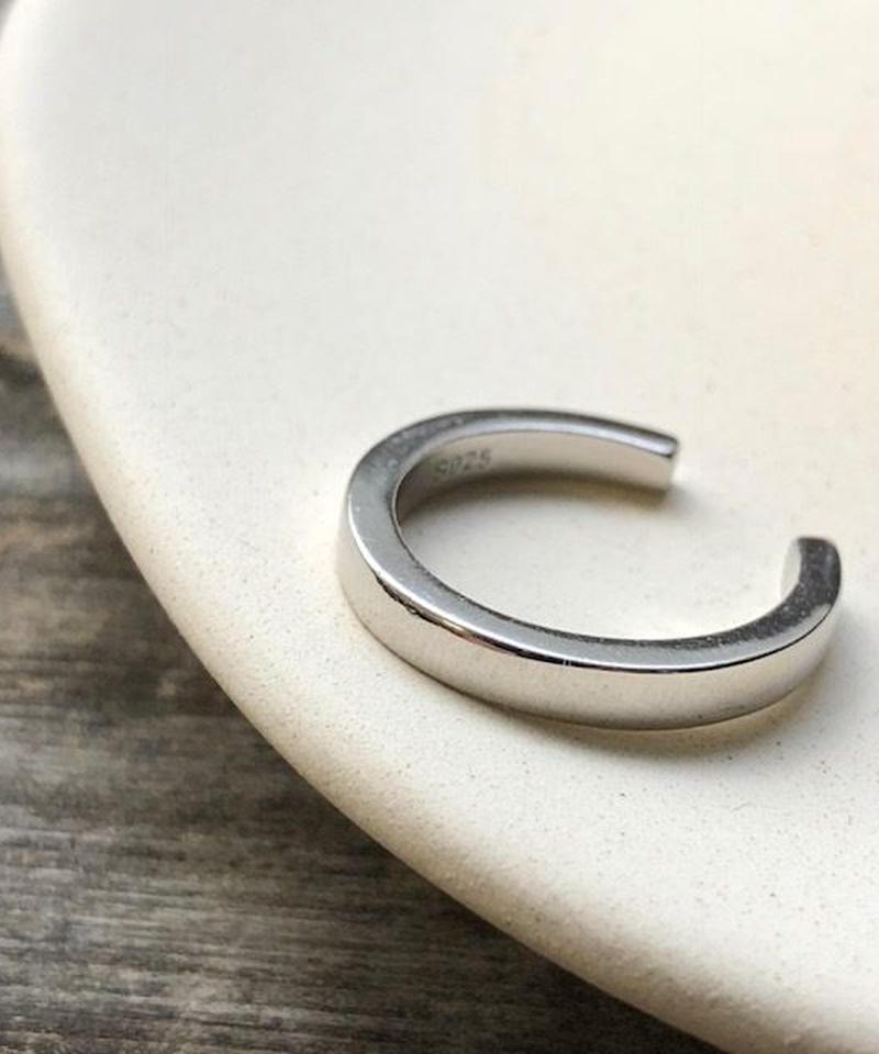 mb-ring2-02043 SV925 厚みリング シルバー925