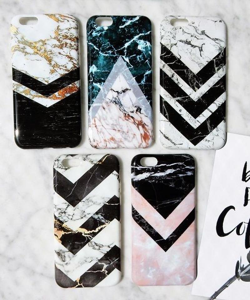 mb-iphone-02255 Vライン 大理石柄 マーブル柄 天然石柄 ストーン柄 iPhoneケース
