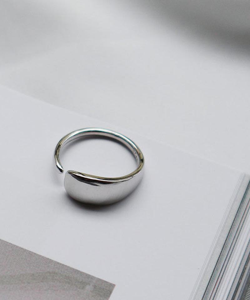mb-ring2-02040 SV925 スムースペタルリング シルバー925