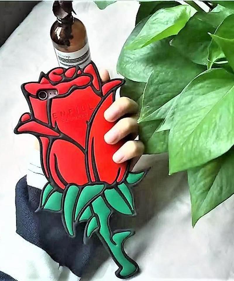 mb-iphone-02263 Rose ローズ 薔薇 iPhoneケース