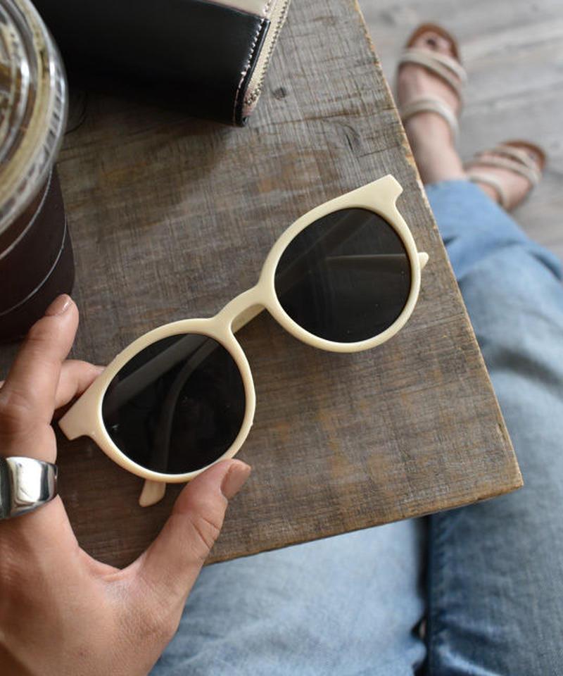 sunglasses-02031 アイボリーフレーム サングラス