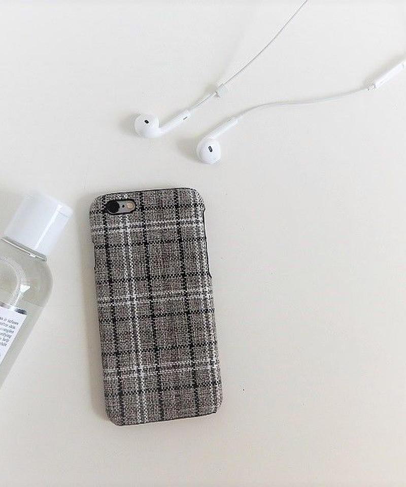 mb-iphone-02380 タータンチェック柄 iPhoneケース
