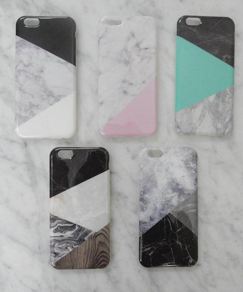 mb-iphone-02069 ミックス 大理石 天然石 iPhoneケース