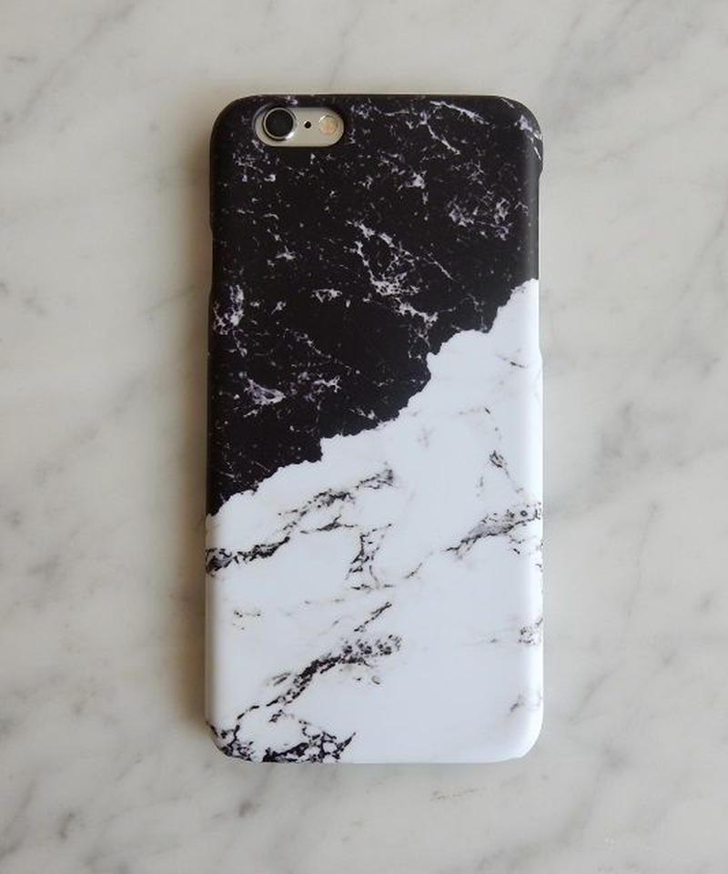mb-iphone-02191 タイプ32 バイカラー 大理石 マーブル柄 天然石柄 ストーン柄 iPhoneケース