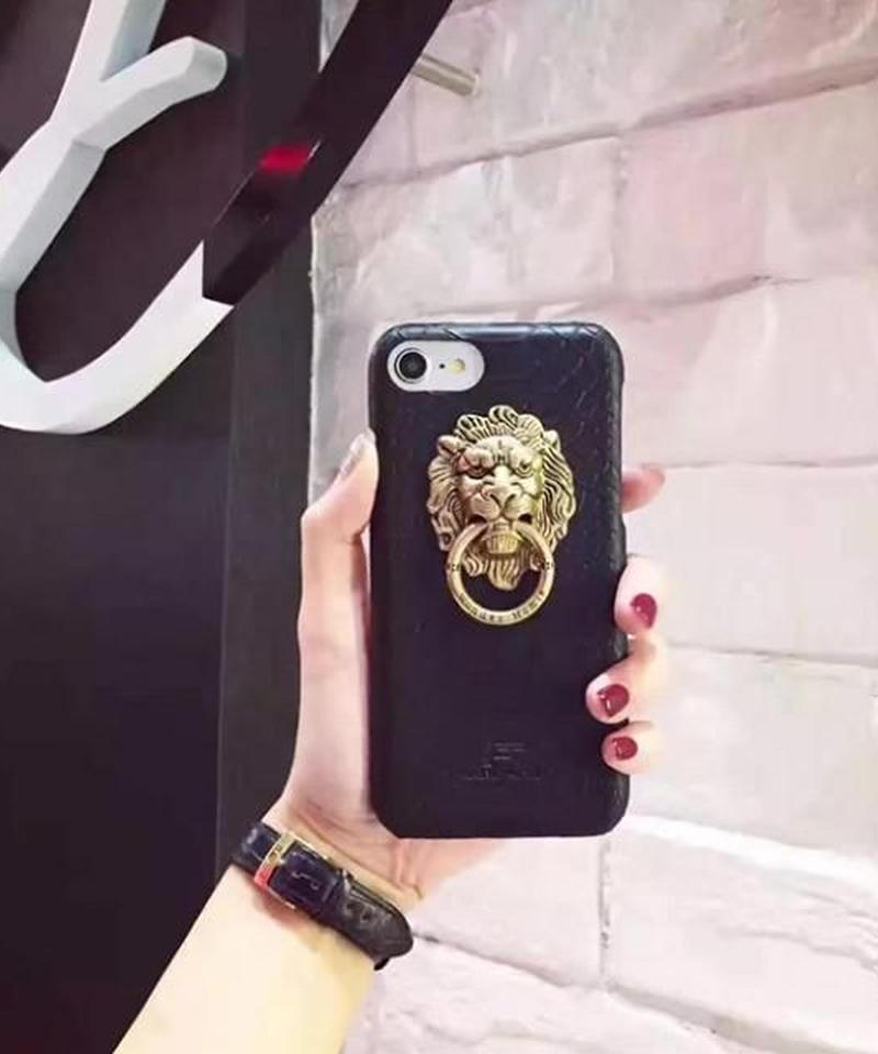 mb-iphone-02325  ライオンモチーフ iPhoneケース
