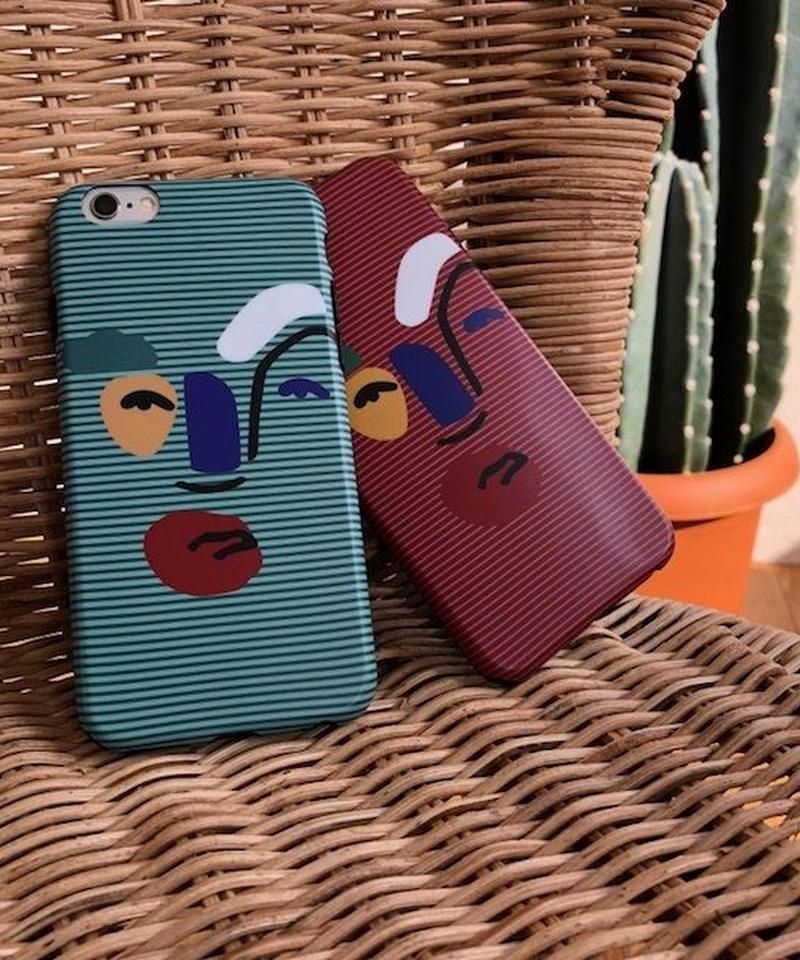 mb-iphone-02418 タイプ3 現代アート デザイン  iPhoneケース