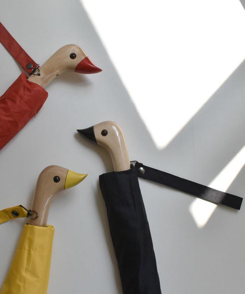 raingoods-02018 Duckハンドル 折りたたみ傘 日傘 雨傘 晴雨兼用
