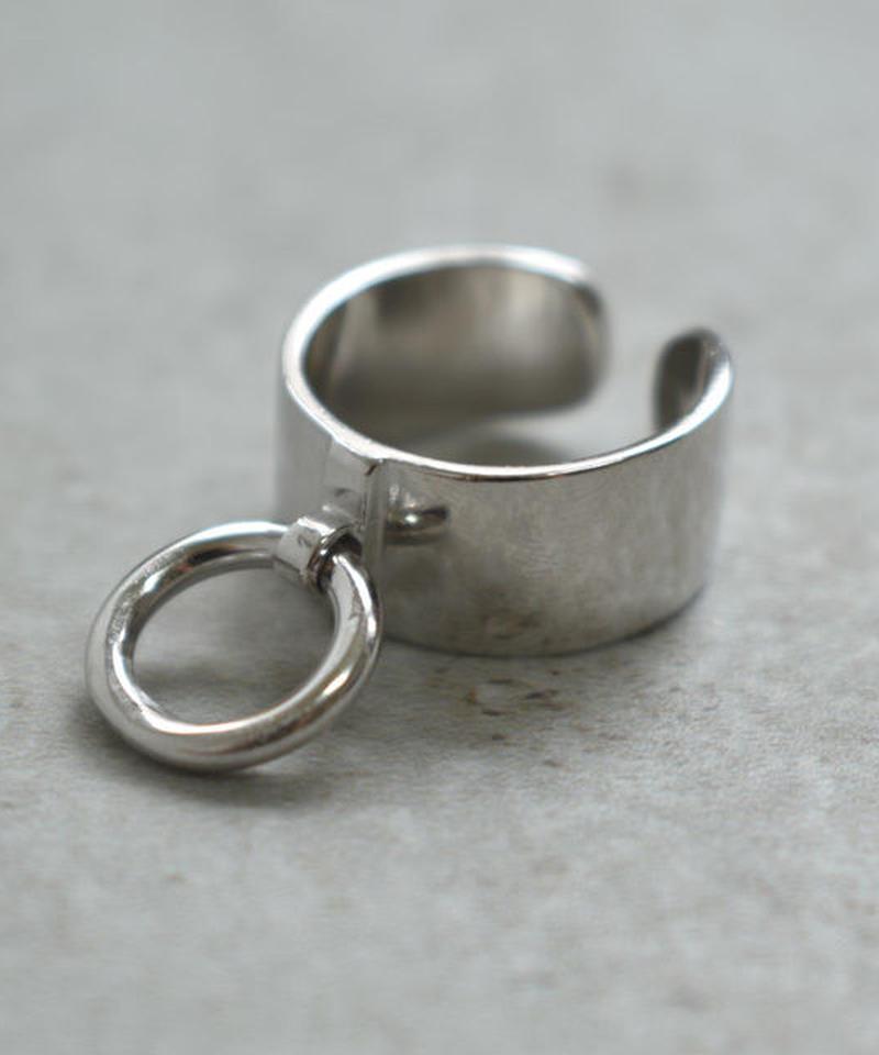 mb-ring-02136 SV925 リング付きワイドシルバーリング 幅9mm 12号から上にサイズ調整可能