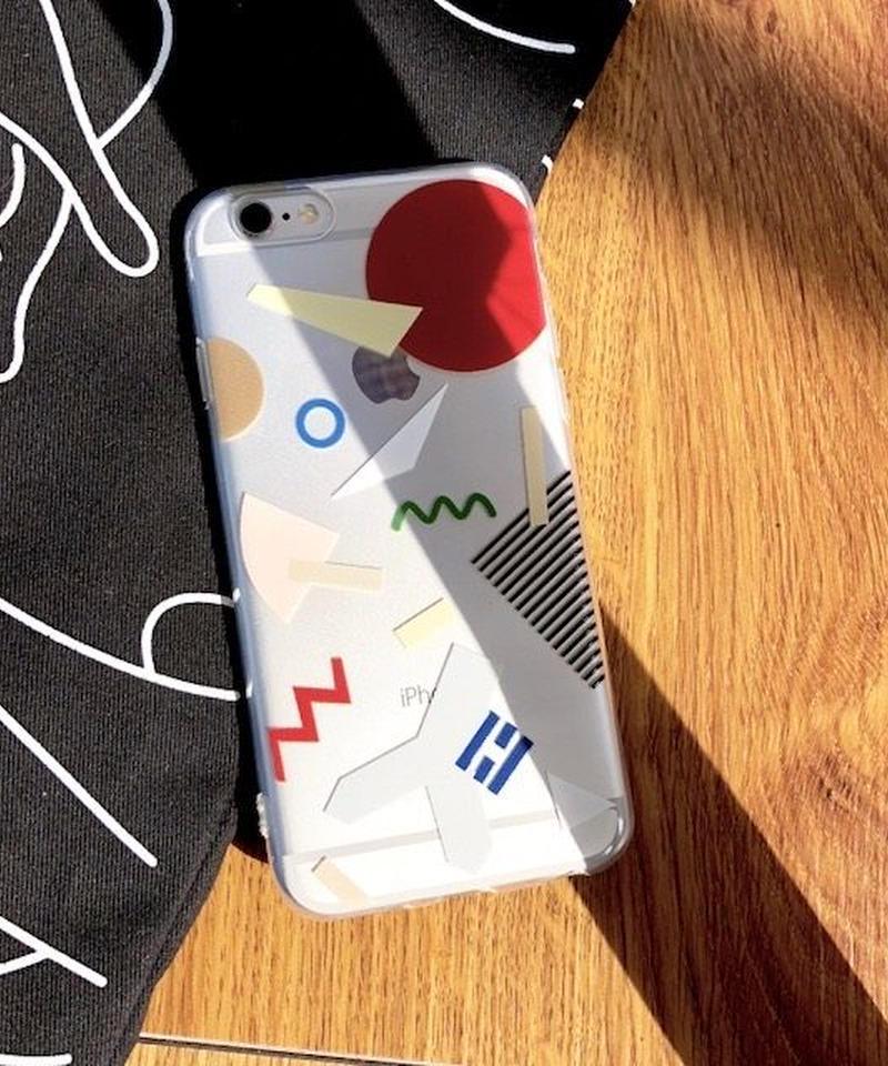 mb-iphone-02417 タイプ2 現代アート デザイン  iPhoneケース