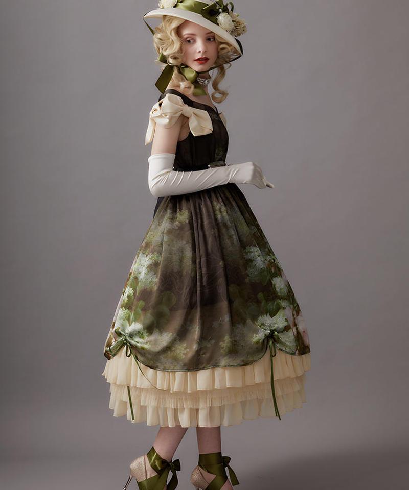 【Lサイズ】Raoul bouquetジャンパースカートⅠ