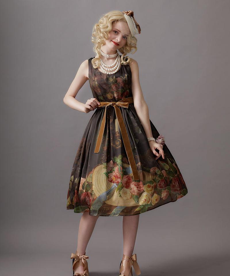 【Lサイズ】Hybrid tearose hat ジャンパースカートⅢ