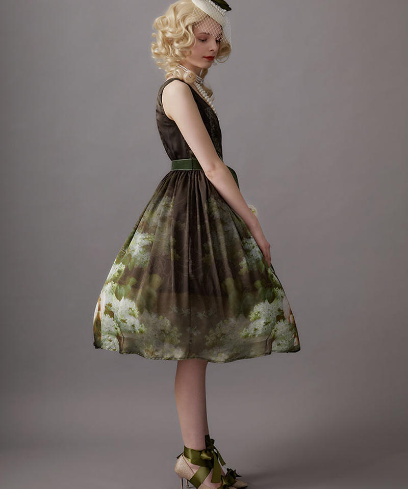 【Lサイズ】Raoul bouquetジャンパースカートⅢ