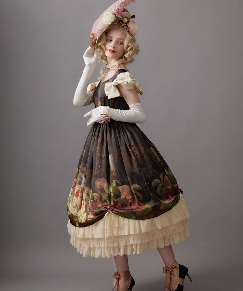 【Lサイズ】Hybrid tearose hat ジャンパースカートⅠ