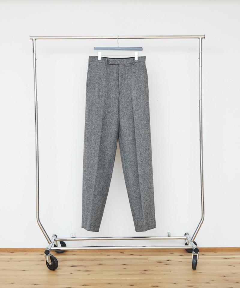 Herringbone Wide Trousers