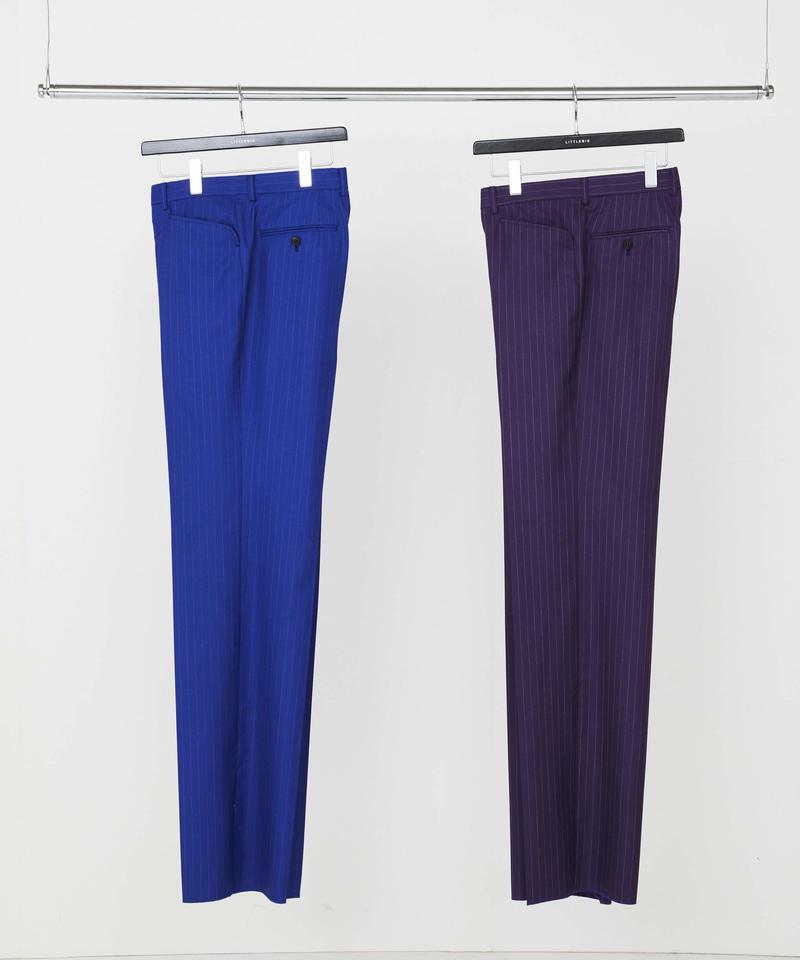 Stripe Straight Trousers