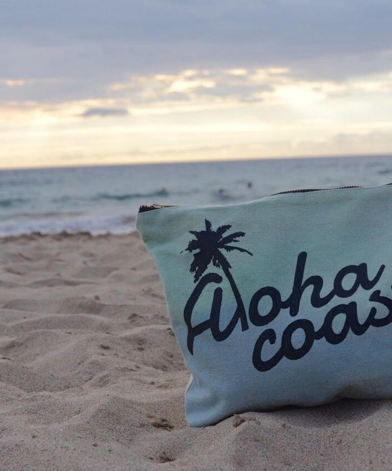Manoa Love Design/オリジナル グラデーション クラッチバッグ Aloha coast