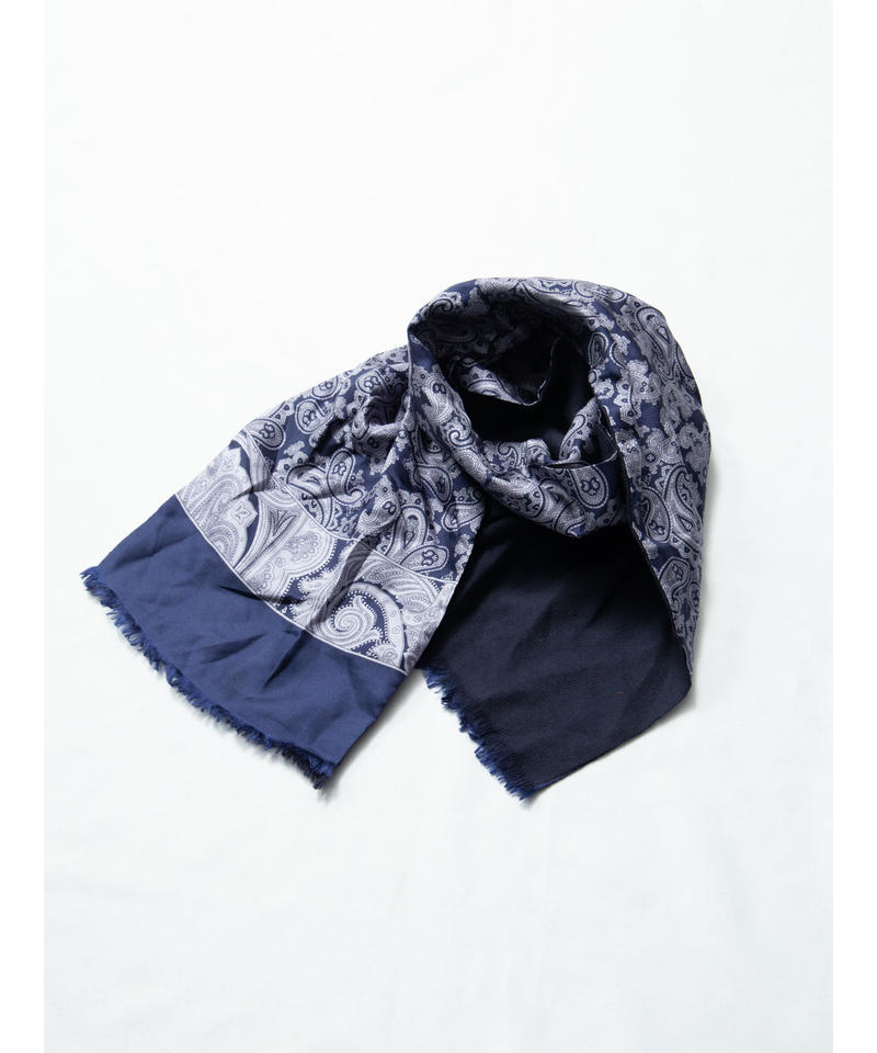 ペイズリーシルクスカーフ