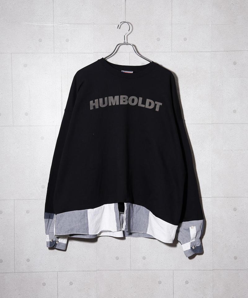 【リメイク】ドッキングシャツスウェット