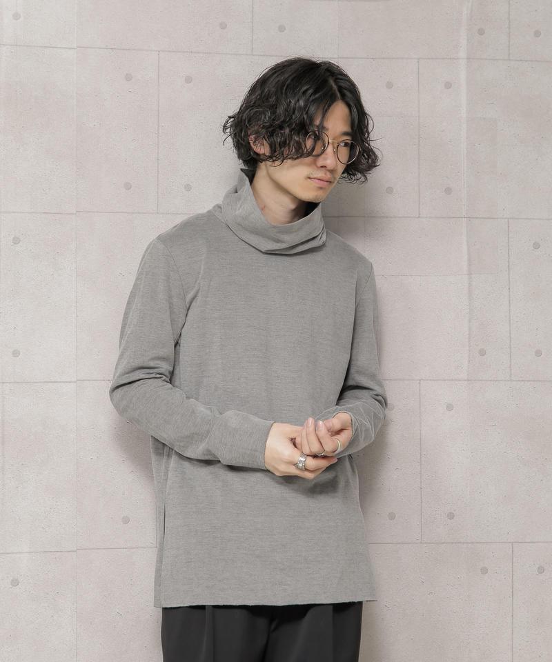 【KAZUYUKI KUMAGAI】クールマックスモクロディスウェード タートルネックL/S