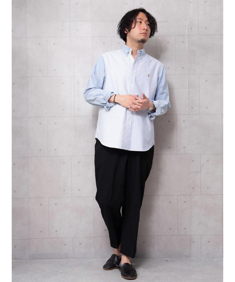 【ポロラルフローレン】クレイジーパターンストライプシャツ