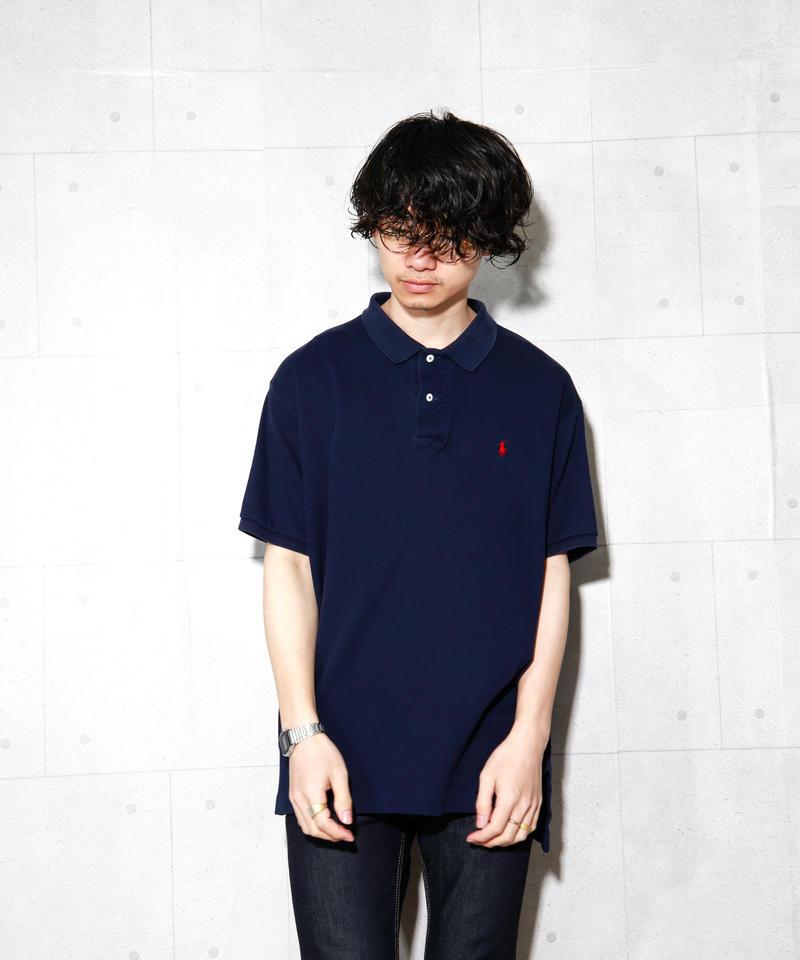 【ポロラルフローレン】ハイゲージニットポロシャツ