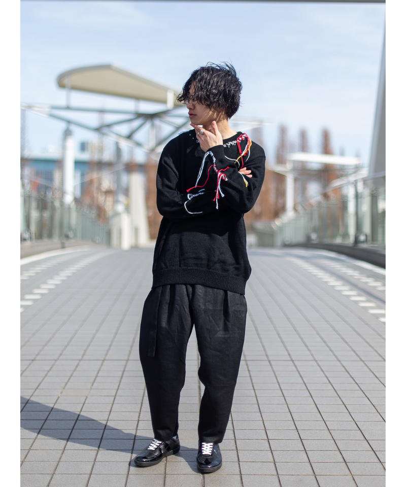 【DISCOVERED】 I stitch knit
