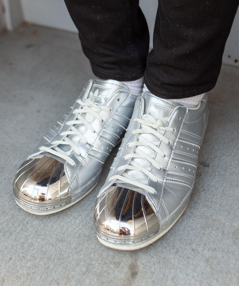 【adidas originals】SUPERSTAR 80s METALLIC PACK
