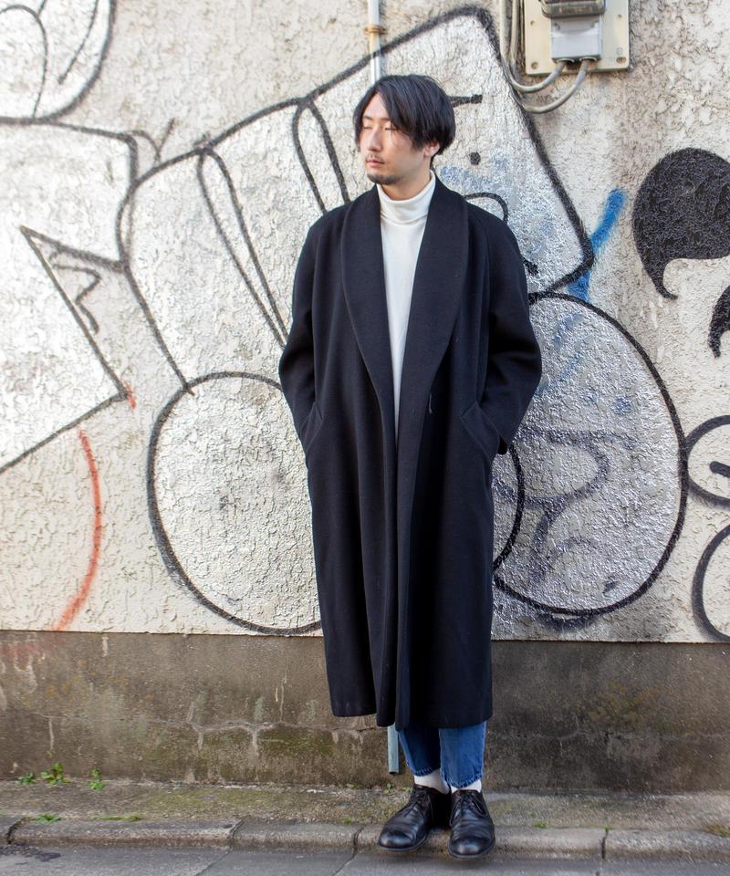 Diorショールカラーコート