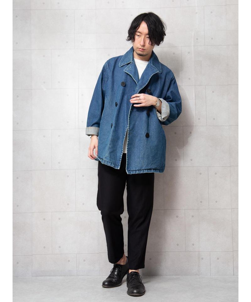 【MBLR】デニムダブルジャケット