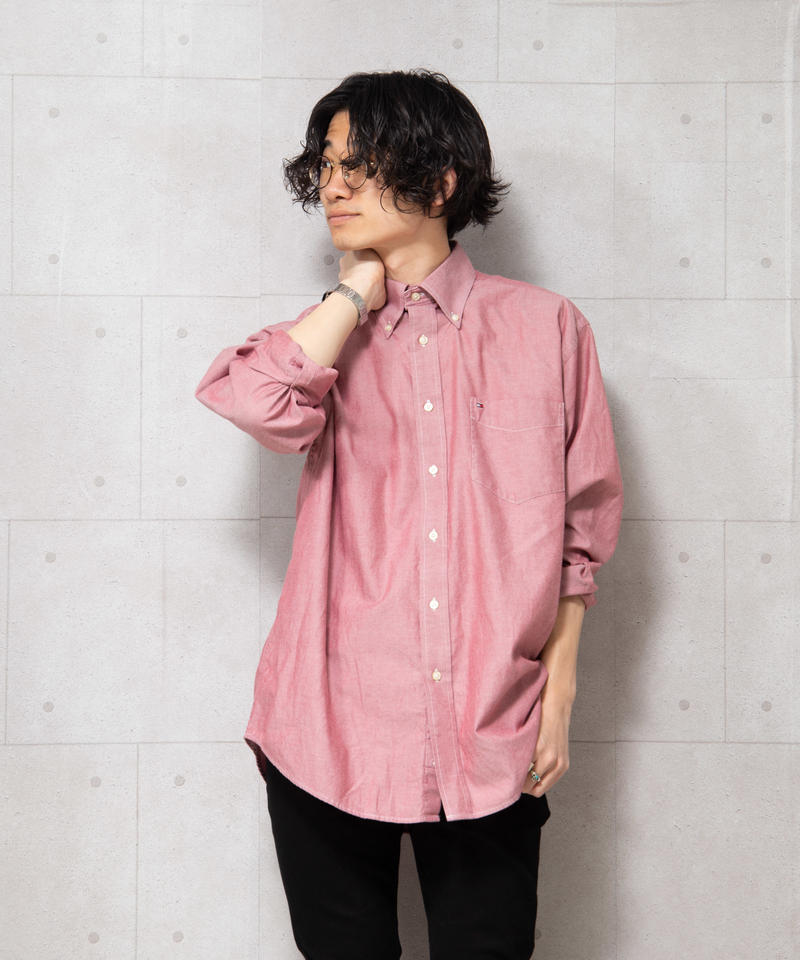 【TOMMY HILFIGER】ビッグブロードシャツ
