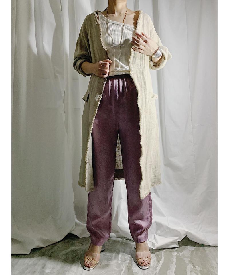 linen coat  beige