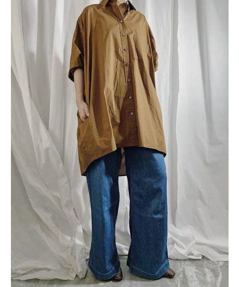 【pre fall】BIG  SHIRT  ( camel )