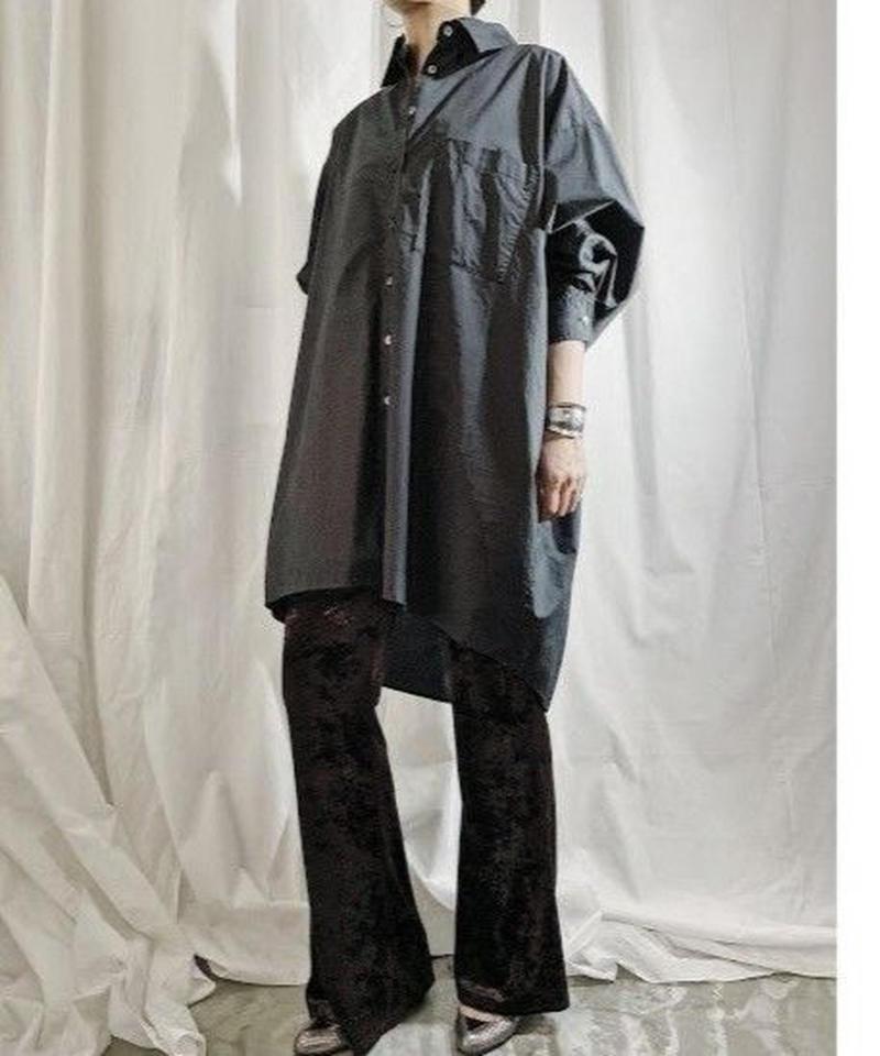 【pre fall】BIG  SHIRT  ( black )