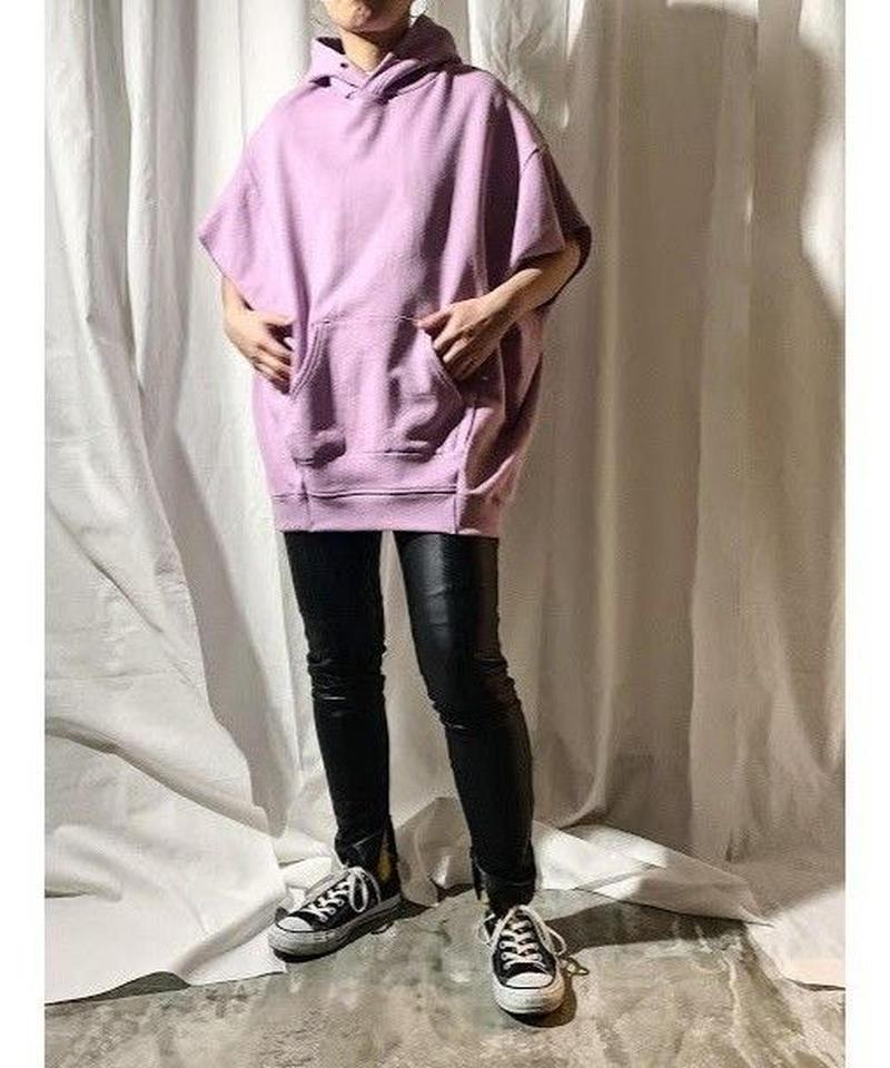 【 pre fall 】hoodie vest  (lavender)