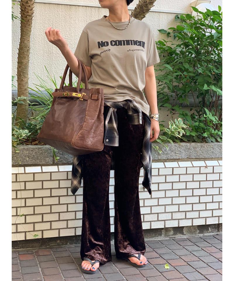 【 pre fall 】logo T-shirts (beige)