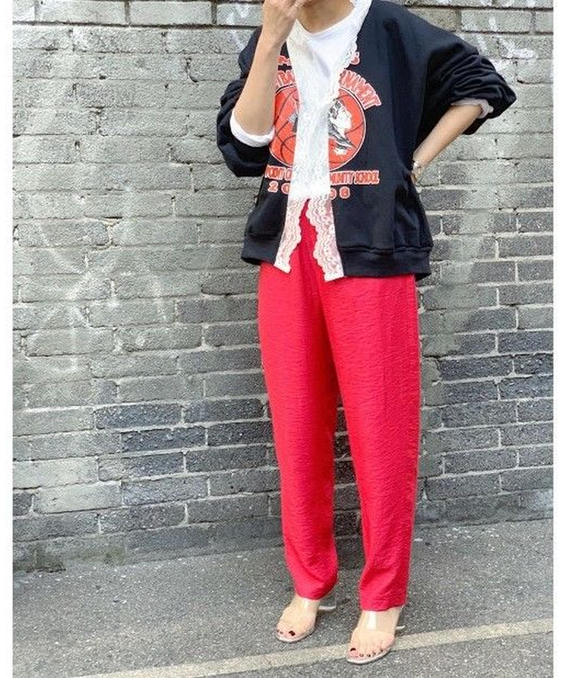relax pants  (red)