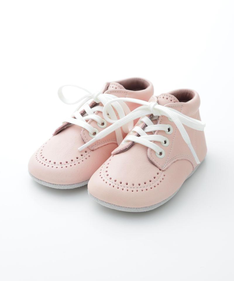 Lace Up Shoes : c/# Pink