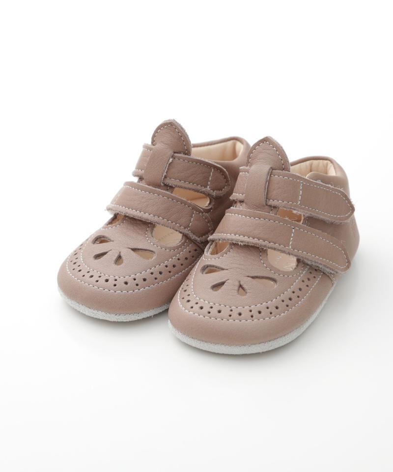 W Strap Shoes : c/# Brown