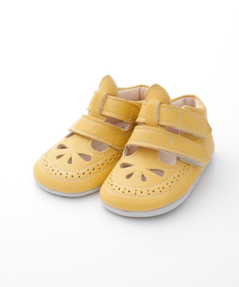 W Strap Shoes : c/# Yellow