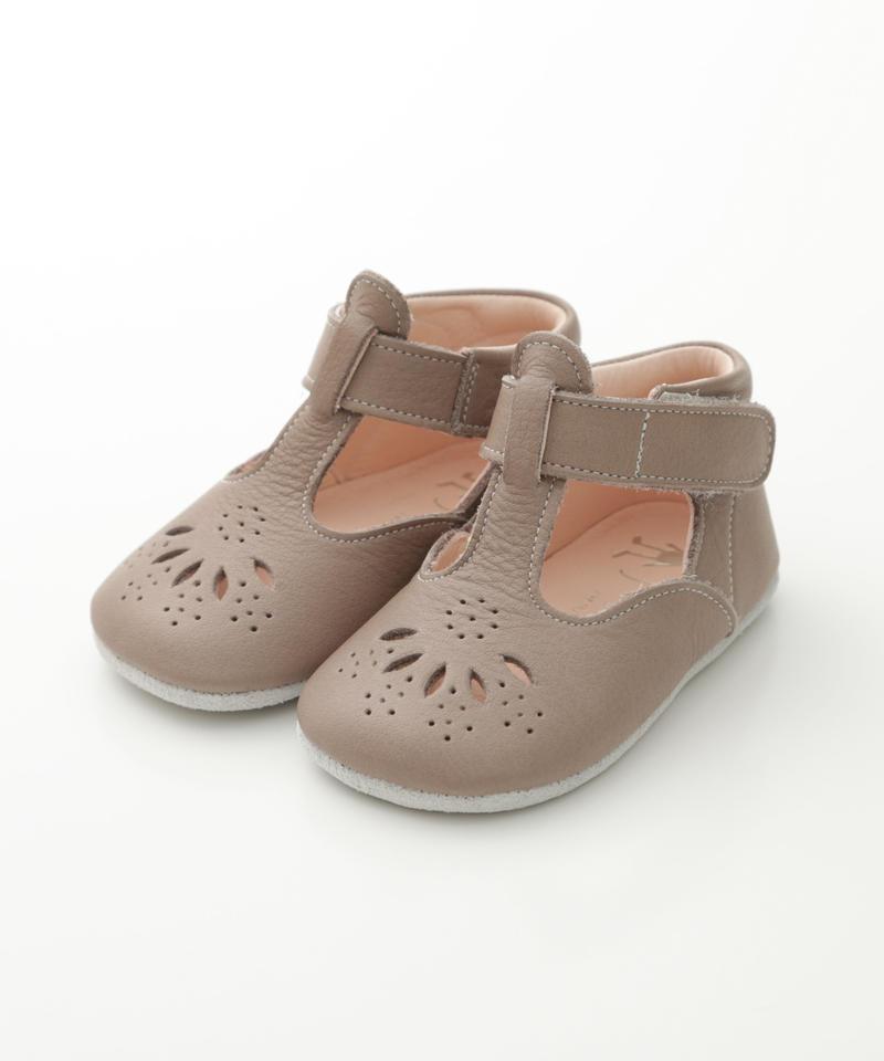 T-Strap Shoes : c/# Brown