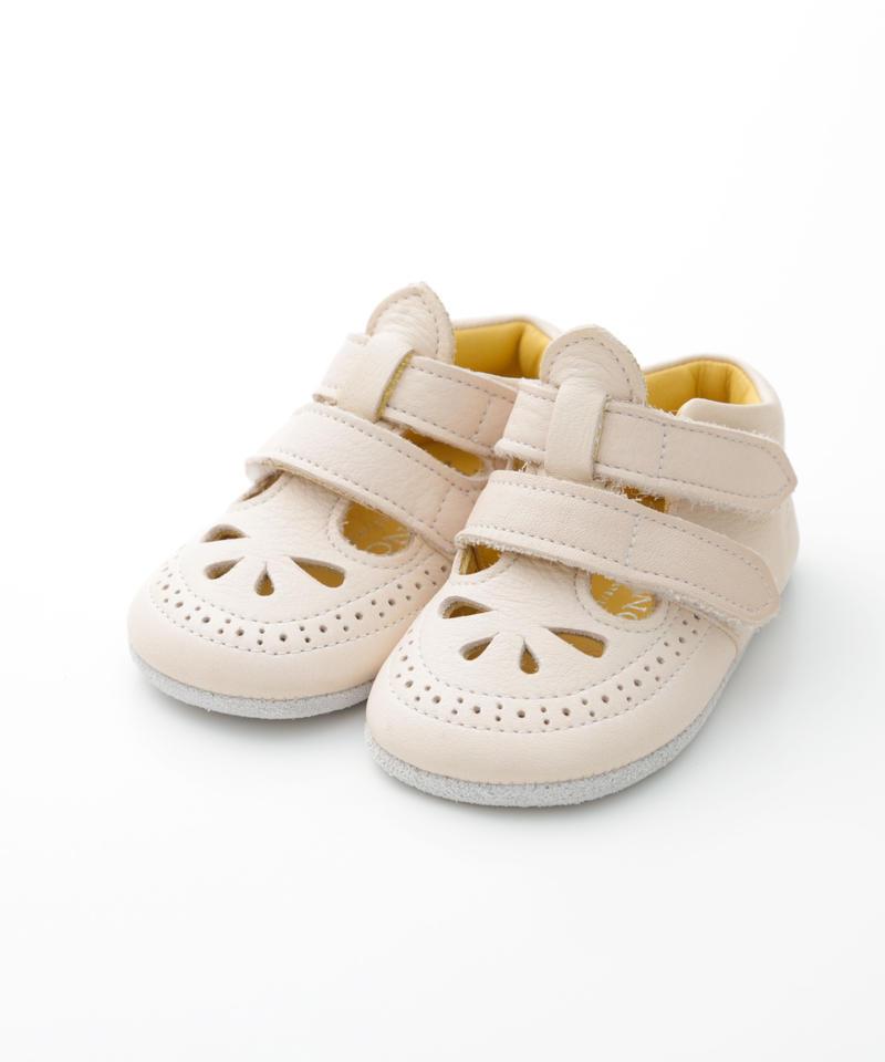 W Strap Shoes : c/# Beige