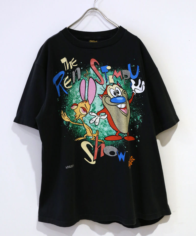 [USED] S/S T-SHIRT THE REN STIMPY SHOW