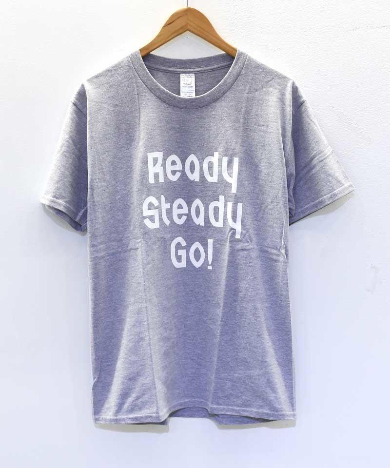 [READY STEADY GO] S/S TEE (GRAY)
