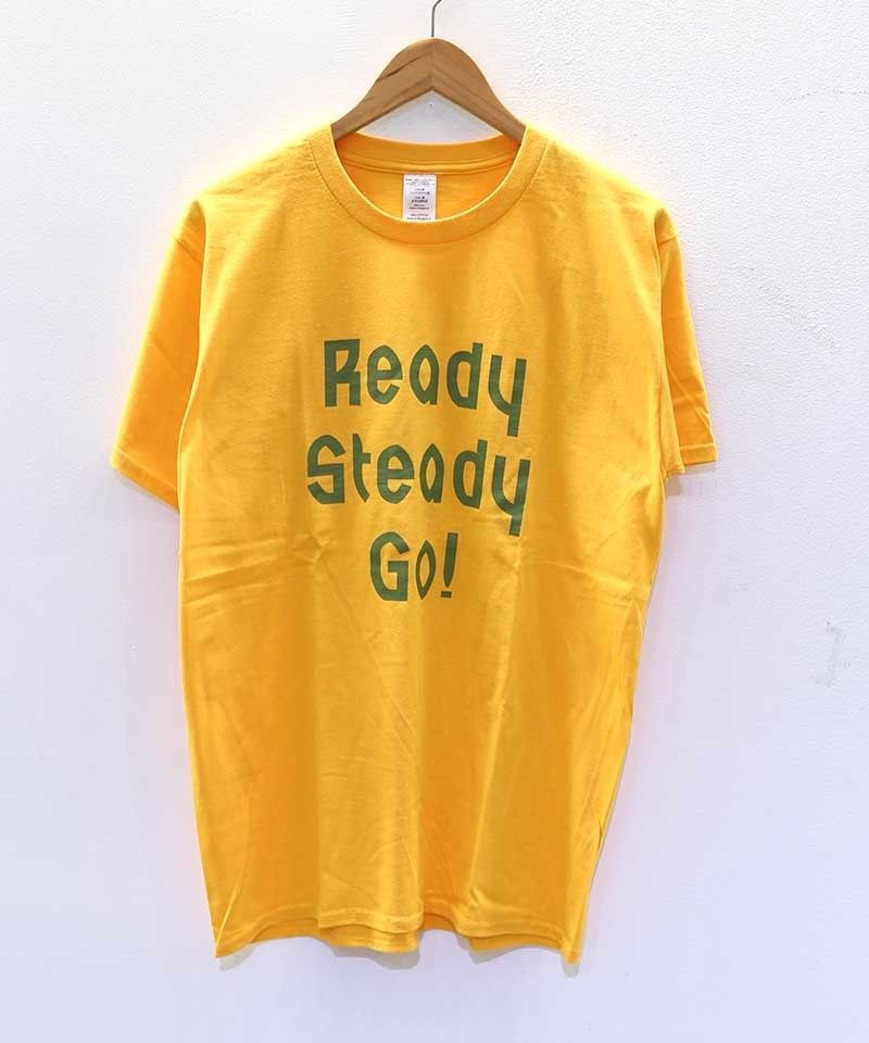 [READY STEADY GO] S/S TEE (GOLD)